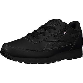 Reebok Men's Classic Renaissance Fashion Sneaker, Black/Dark Grey Heather/Solid Grey, 15 M US