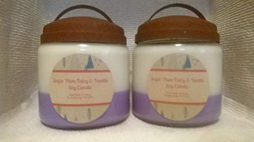Holiday scent! Sugar Plum Fairy & Vanilla Soy Candle