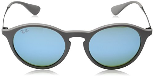 Gris Grey Rubber 4243 RB Ray Sonnenbrille Ban Bluee Greenlight 1wIYqxga