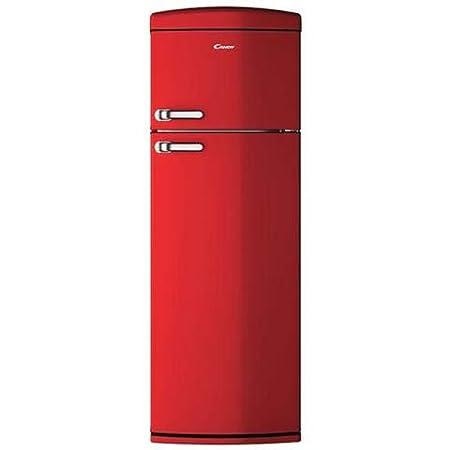 Candy CVRDS 6174RH nevera y congelador Independiente Rojo 304 L A ...