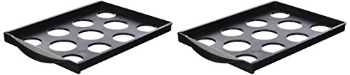 (Fellowes Additional Drawers for Printer or Fax Machine Organiser Stand Ref 2400501 (Pack of 2))
