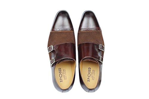 marrone scarpe cioccolato Xposed derby marrone qExgC66pdw