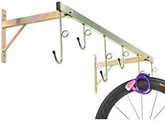 Porta bicicletas de pared de 6 plazas, desmontable y con anillos ...