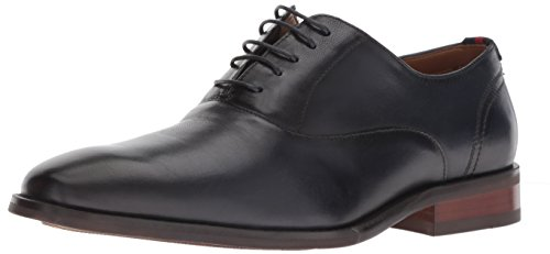 Pictures of Steve Madden Men's Driscoll Oxford Navy DRIS01M1 Navy Leather 1