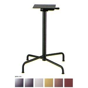 e-kanamono テーブル脚 アポロS2700(スタッキング収納式) ベース495x495 パイプ50.8φ 受座240x240 基準色塗装 AJ付 高さ700mmまで ジービーメタリック B012CF73XC ジービーメタリック ジービーメタリック