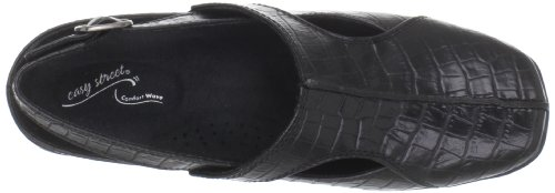 Easy Street Sportster, Zoccoli donna Black Cro, nero (Black Croco), 37,5 EU