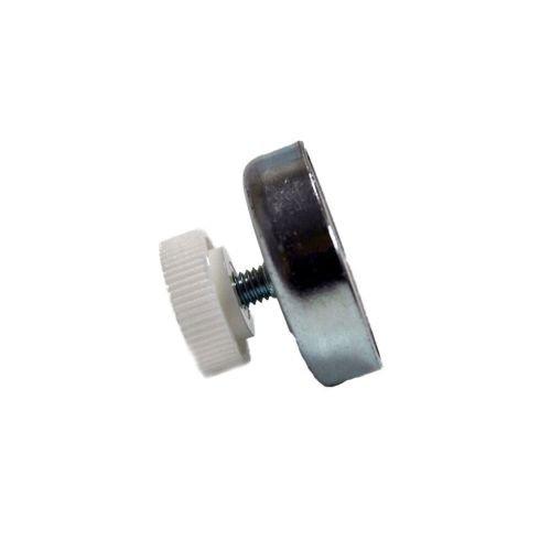 Magnet Schilderhalter 47 x 9 mm mit Gewinde M6 f/ür Spiegel /& Schilder bis 14 kg