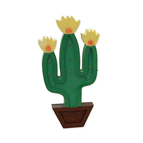Lighted Cactus Outdoor Light Decoration in US - 2