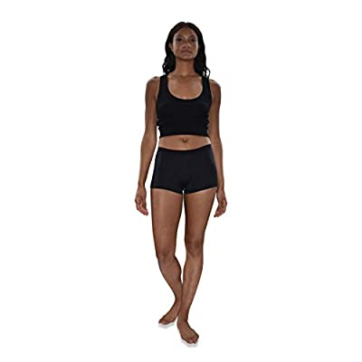 Sexy Basics Women's 6 & 12 Pack Modern Active Boy Short Boxer Brief Panties