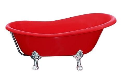 Vasca Da Bagno Rossa : Freestanding vasca da bagno di lusso rosso millimetri