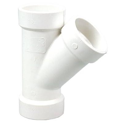 NIBCO 4810 Series PVC DWV Pipe Fitting, Wye, Hub