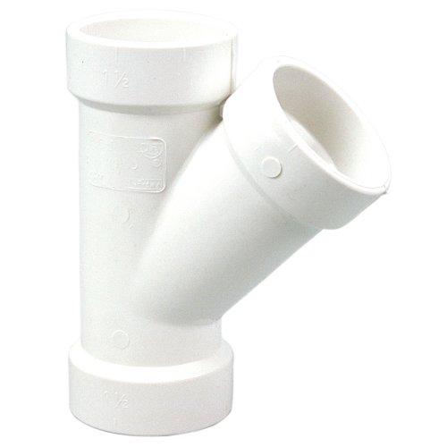 U4810 11/2 HXHXH 45 WYE PVC