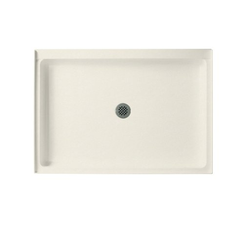 Swanstone SS-3448-121  Shower Base with Center Drain, Glacier (Swanstone Shower Pans)