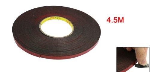 Amazon.com: eDealMax 7 mm Anchura DE 4,5 metros de la longitud Rojo película de espuma Cinta de Doble cara Para el coche automático: Automotive