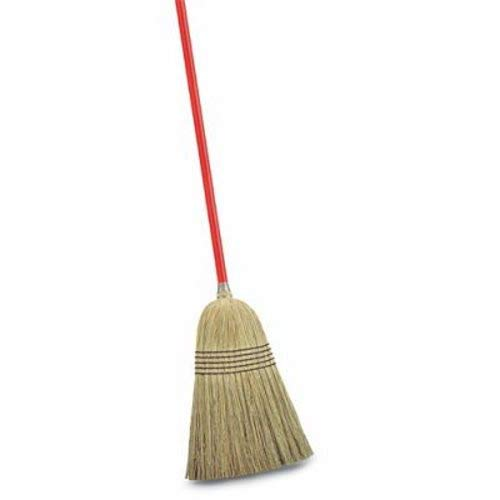 - Libman Commercial 502 Janitor Corn Broom (Pack of 6)