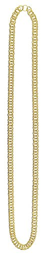 amscan Large Chain, One Size, Gold -