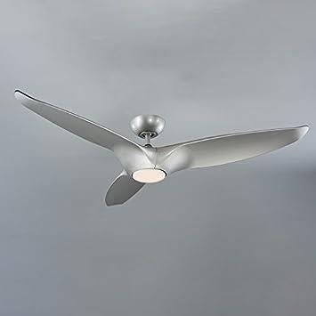 Modern Forms FR-W1813-60L-35-AS Morpheus III Ceiling Fan, Automotive Silver