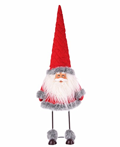 Final Clearance! Amazlab Cute Christmas Plush Dancing Santa Claus Standing Figurine with Spring, Splashing and Funny Xmas Decorations Christmas Gifts Home Holiday Decoration - Cloud Flying Gifts