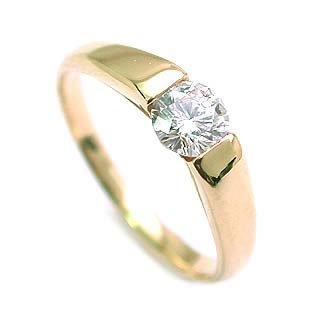 【SUEHIRO】 ( 婚約指輪 ) ダイヤモンド K18エンゲージリング( Brand Jewelry アニーベル ) #14 B004FXTMXO