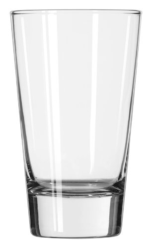 Flare Cooler Glass (Libbey 15.5-Ounce Clear Geo Cooler Glass, Set of 12)