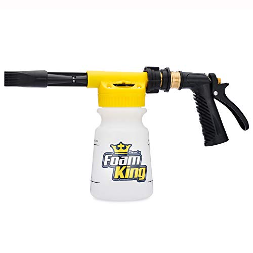Foam King - The King of Suds - Deluxe Car Wash Sprayer - Car Foam Gun - Suds Maker (Best Way To Get Truck Out Of Mud)