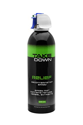 "Mace Pepper Spray Relief ""TakeDown"" Decontamination Spray, All Natural Eye Wash for Law Enforcement and Consumers (Professional)"