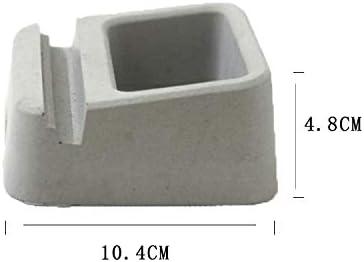Concrete Silicone Mold Handmade Cement Cell Phone Holder Desktop Decor Mould