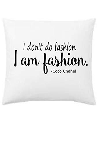 - I don't do fashion, I am fashion designer inspired throw pillow, 16