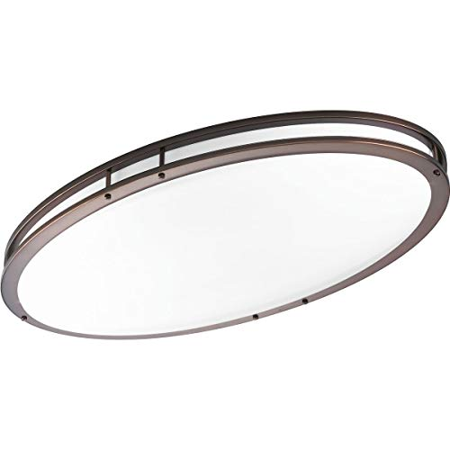 - Progress Lighting P7251-17430K9 COMM One-Light LED Oval CTC, Urban Bronze