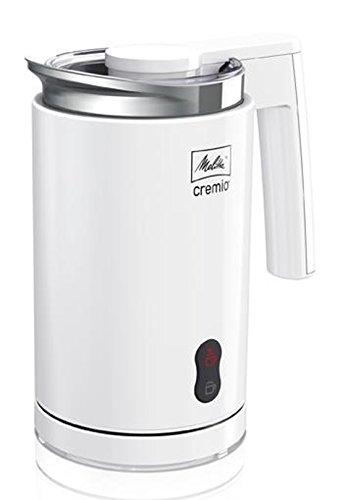 Melitta 100501 wh Milchaufschäumer Cremio für kalte und warme Milch, weiß