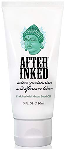 (After Inked Tattoo Moisturizer & Aftercare Lotion 3oz Tube)