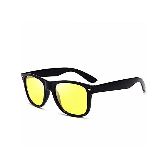 Pilote Nouvelles Yellow Mode Conduite Soleil Lunettes Green Hommes Lunettes Lunettes Soleil pour Black Polarisées Black Couleur Soleil De LBY De de Homme De 4pfqfw