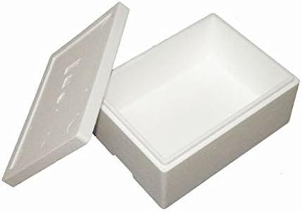 Premium Caja Styropor y poliestireno Caja/térmica – 10,5 L – Talla 6: Amazon.es: Productos para mascotas