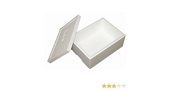 Premium Caja Styropor y poliestireno Caja/térmica – 10,5 L – Talla ...