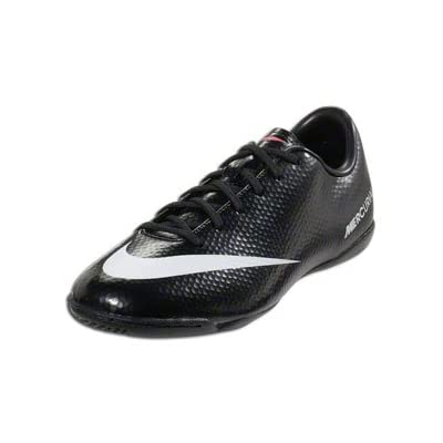 quality design 99952 715c8 Nike Mercurial Victory IV IC Junior - Black Whit