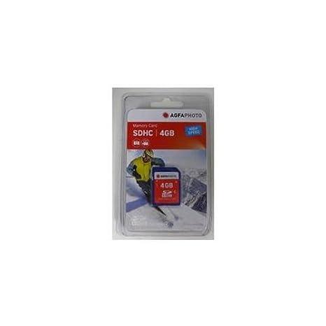 Amazon.com: AgfaPhoto tarjeta SD de 4 GB: Electronics