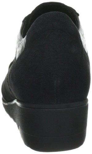 Perceval Black Mobils Schwarz GLENDA 10103 Bu basse 6900 5200 Pe P5101612 Nero stringate Scarpe donna azWU8ar