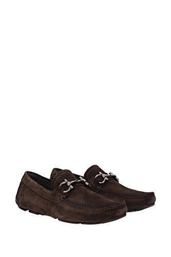 Brown For Loafers Salvatore Ferragamo Men xpnwqU0IU