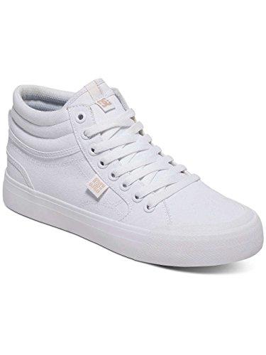 Dc Shoes Evan Hi Tx - Zapatillas Altas Para Mujer White