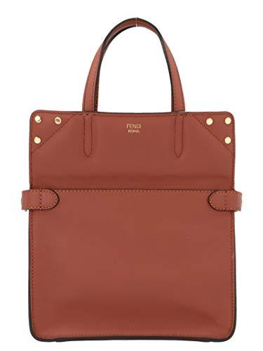 Fendi Women's 8Bt306a5dyf16gp Brown Leather Messenger Bag