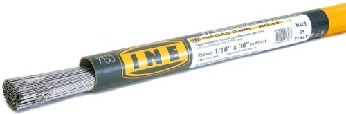 INEGAS G3NR RG-65 1/16 x 36-Inch on 10-Pound Tube Copper Free Rod for Oxyfuel and Tig Welding by INE