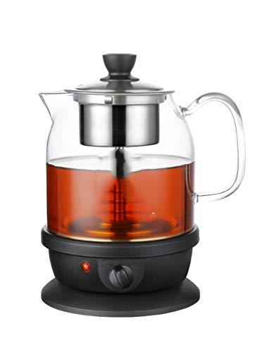 YONGYONGCHONG Multifunctional cooking teapot glass tea set electric kettle kettle steamer automatic insulation electric teapot household teapot heater (800ml)