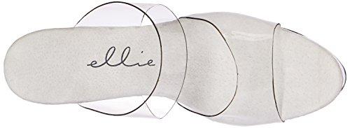 Ellie Shoes 821 coco coco Womens Transparent 821 Size Clear rrxwq6S