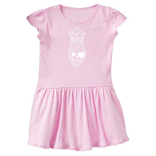 (inktastic - Pirate Summer Pineapple with Toddler Dress 2T Ballerina Pink 36232)