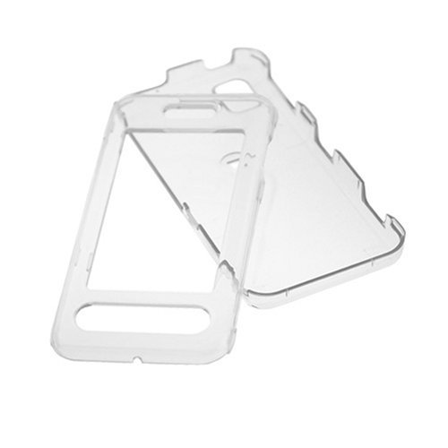 - Transparent Clear Snap On Crystal Hard Case for Samsung Instinct SPH-M800 Cell Phone