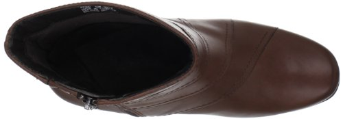 Clarks Womens Leyden Candle Ankle Boot Darkbrown jUJZDP