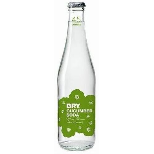 Dry Soda - Cucumber, 12 Ounce - 4 per pack - 6 packs per case.