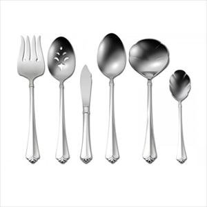 Oneida Julliard 6-Pc Serving Set Fine Heirloom Flatware 18/10 Stainless Classic Pattern