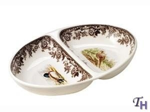 Spode Woodland Pheasant and Mallard Divided Dish by Spode