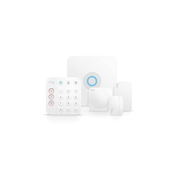 Ring Alarm 5-piece kit (2nd Gen) – home security system with optional 24/7 professional monitoring – Works with Alexa 2